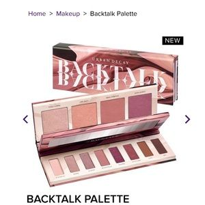 Urban Decay Backtalk eye&face Palette